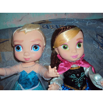Princesas Disney Anna Y Elsa D Frozen Muñecas Grandes.