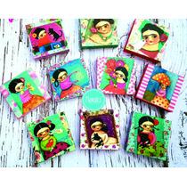 Frida Khalo Alhajero Mdf Decorado Diseños Originales!!!