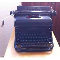 Maquina De Escribir Remington Antigua