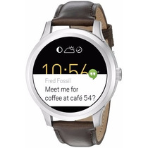 Fossil Q Founder Digital Display Brown Leather Touchscreen