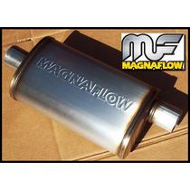Mofle Silenciador Universal Magnaflow # 12226 Y Colilla
