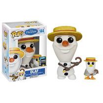 New Pose Olaf Funko Pop Disney Frozen Exclusivo Sdcc Pinguin