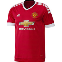 Jersey Niño Manchester United Rojo 2016 Adidas