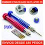 Desarmadores Kit 5 Puntas Celular, Tablet, Laptop, Etc