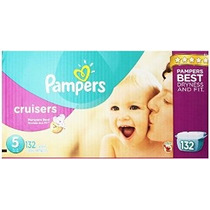 Pampers Cruisers Pañales Tamaño 5 Economía Paquete Plus 132