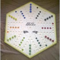 No Te Enojes Para 6 Personas Forma Hexagonal