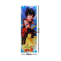 Dragon Ball Z Poster Largo Plastificado Goku Nube Voladora