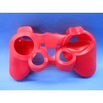 Silicon Skin Case Para Play Station 3 Color Rojo