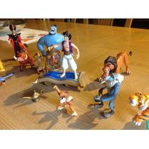 Aladino Y La Lámpara, 18 Figuras Disney Mattel 1992,completo