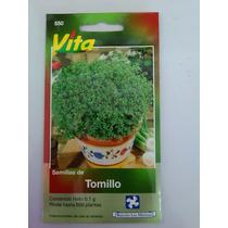 600 Semillas De Tomillo