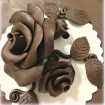 Chocolate En Pasta Cubrir Pasteles Hacer Figuras Dulces 1kg