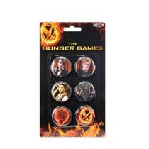 Los Juegos Del Hambre - Neca Pin Set 6pc Reparto Pin Pin Pin