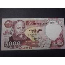 Colombia 5000 Pesos Oro Fecha 1994 (5) Disponibles