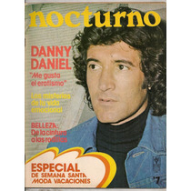Revista Nocturno Danny Daniel 1975