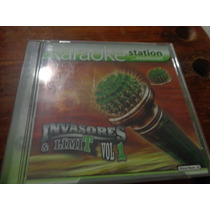 Karaoke Station Invasores Cd De Audio