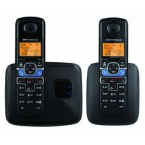 Kit 2 Telefonos Inalambricos Motorola L702bt Dect 6.0