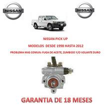Bomba,licuadora Direccion Hidraulica P/caja Nissan Pick Up