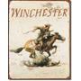Poster Lamina Anuncio Retro Armas Caceria Winchester Logo