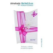 6 Cajas De Acetato En Forma De Almohada Grande,caja De Mica