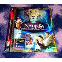 Las Cronicas De Narnia 3 - Bluray Importado -solo Slipcover-