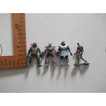 Tortugas Ninja,schredder,lote De 4 Minifiguras