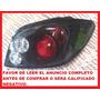 Calavera 3d Para Peugeot 307 Deportivas Fondo Negro Y Cromo