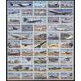 Mexico 2009 Aviacion Set De 50 Timbres Diferentes Ver Foto