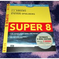 Super 8 Slipcover - Blu-ray Importado Usa -solo Slipcover-