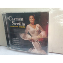 Carmen Sevilla. Carmen De España. Cd.