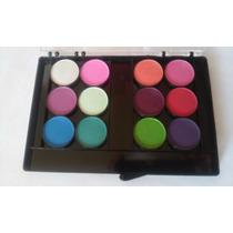 Paleta 12 Colores Sombras - 02- Julia Sanchez