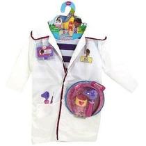 Bata De Doctora Juguetes-disfraz-lambie-felpita-
