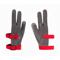 Guante Anticorte 3 Dedos Malla Acero Safety Tools