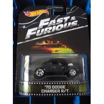 Hotwheels Retro 70 Dodge Charger R/t Rapido Y Furioso