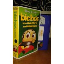 Vhs Bichos. Español Latino.de Colección. Disney Pixar