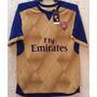 Jersey Arsenal, Dorado Con Azul