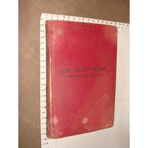 Libro Antiguo The Berlitz Method, English, Libro Ilustrado P