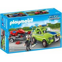 Playmobil 6111 Servicio Cortadora D Cesped Ciudad Retromex
