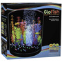 Tb Pecera Glofish Half Moon Aquarium With Blue Led