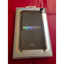 Case Tipo Folder Marca Kajsa Galaxy S4 Metallic