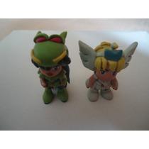2 Figuras De Caballeros Del Zodiaco De Resina Epoxica