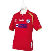 Jersey Cruz Azul Rojo Umbro