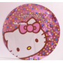 Fiesta De Hello Kitty, Globo Metálico De 18 Pulgadas