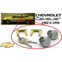 82-94 Chevrolet Cavalier Chapas Para Puertas Llaves Cromadas