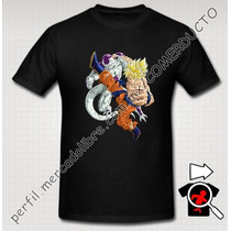 Playera Goku Dragon Ball Z Freezer Vs Goku
