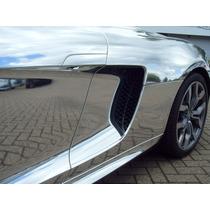 Cromo Tipo Espejo Vinil Automotriz Tunning Fibra De Carbono