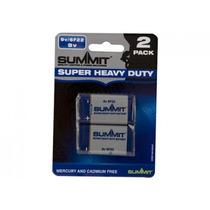 9v Baterías - El Super Heavy Duty 9 Voltios Larga Vida Larga