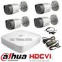 Kit Cctv Videovigilancia 4 Camaras Avtech Alta Resolucion