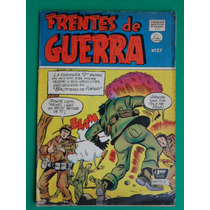 1955 Frentes De Guerra #27 Comic Mexicano Edit. La Prensa