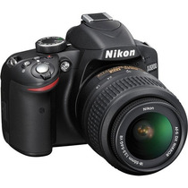 Camara Nikon D3200 24.2 Mp Con 18-55mm F/3.5-5.6 Af-s Vr Hd
