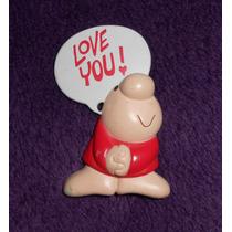 Ziggy!! Pin De Colección Love You, 1990, Mide 6.5cm